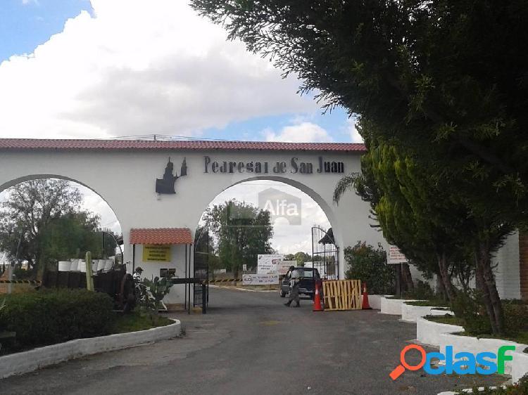 Terreno campestre en Venta, Pedregal de San Juan en San