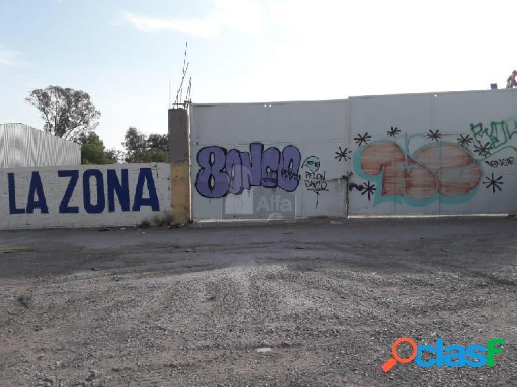 Terreno comercial en renta en Zona Industrial, San Luis