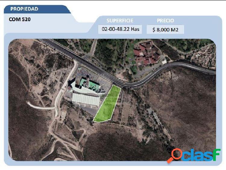Terreno comercial en venta en Desarrollo del Pedregal, San