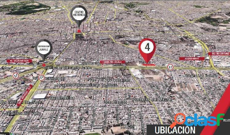 Terreno comercial en venta en Insurgentes, San Luis Potosí,