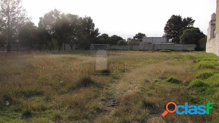 Terreno comercial en venta en San Diego Xocoyucan,