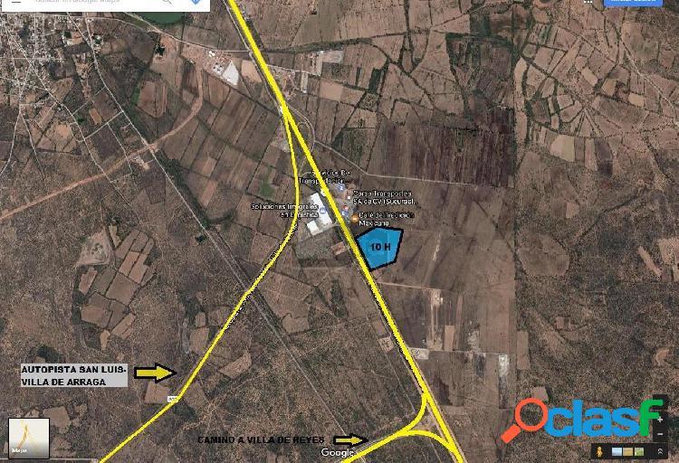 Terreno comercial en venta en Villa de Arriaga Centro, Villa