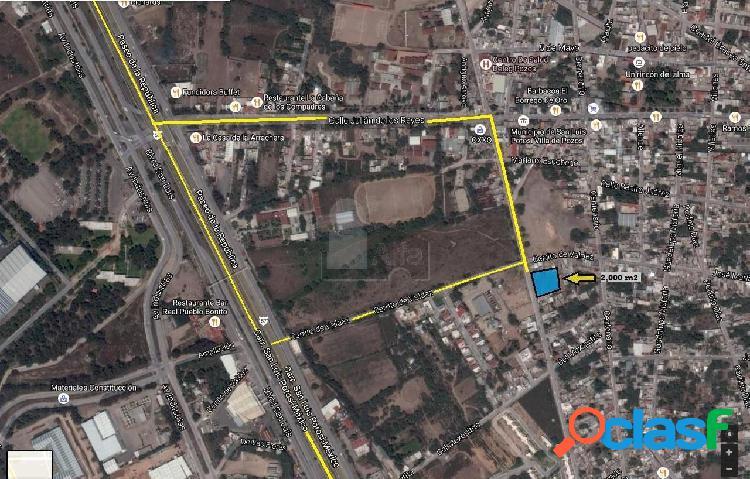 Terreno comercial en venta en Villa de Pozos, San Luis
