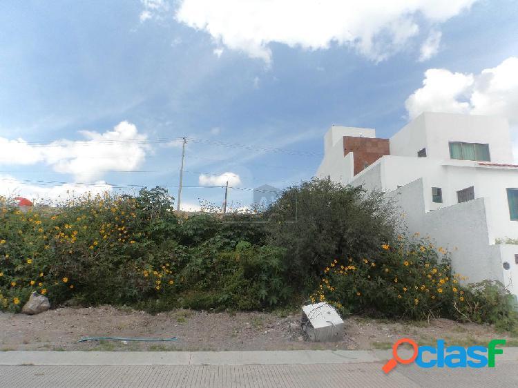Terreno en Venta de 290 m2 en Real Juriquilla. Querétaro