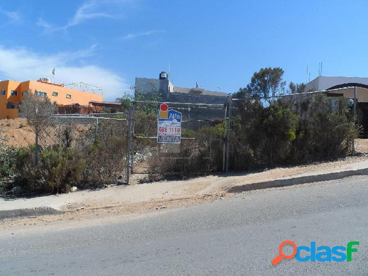 Terreno en Venta en Cumbres de la Presa, Ensenada B.C