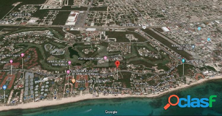 Terreno en venta en Playa del Carmen Playacar