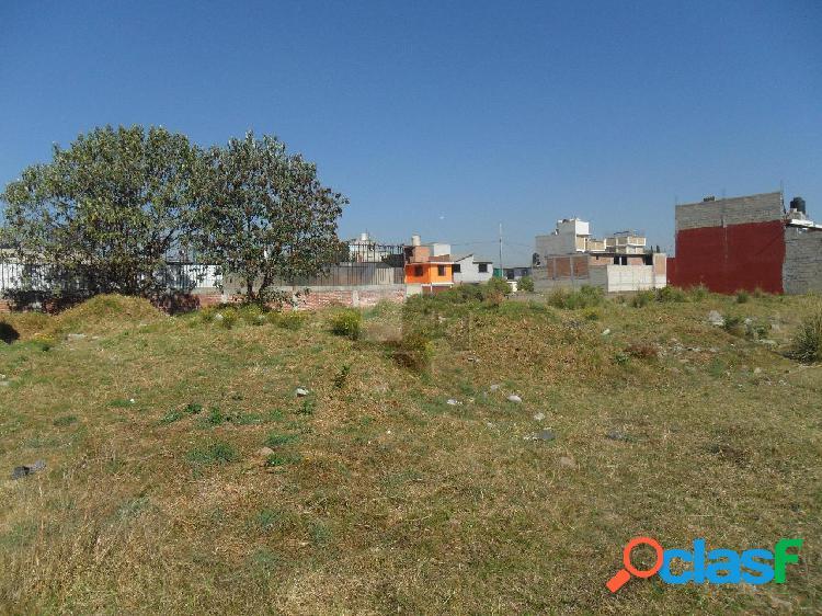 Terreno habitacional en venta en Buenavista, Toluca, México