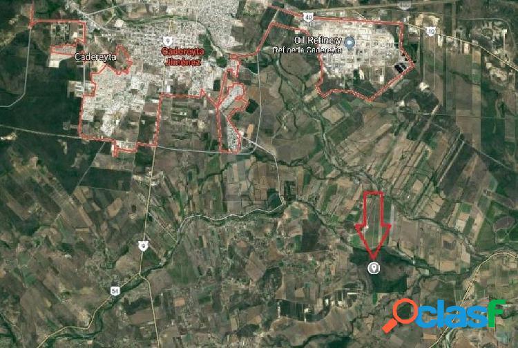 Terreno habitacional en venta en Cadereyta, Cadereyta