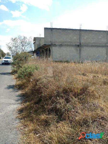 Terreno habitacional en venta en San Pedro Tlalcuapan de