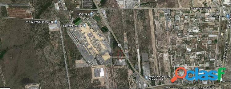 Terreno industrial en venta en Andres Caballero Moreno