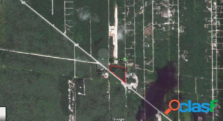 Terreno industrial en venta en Cancún (Internacional de