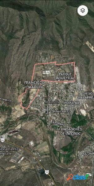 Terreno industrial en venta en Parque Industrial el Carmen,