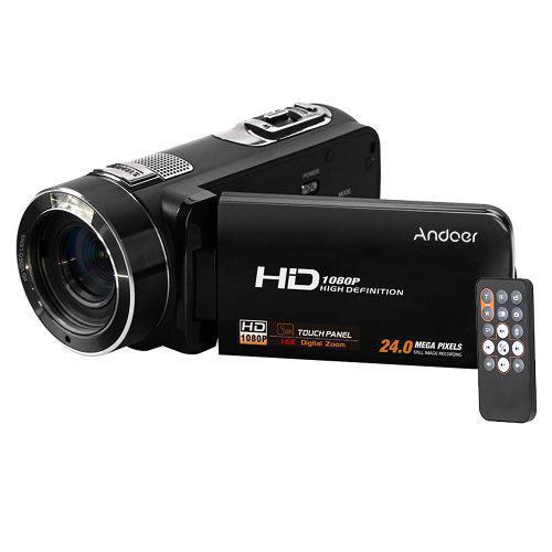 Videocámara Con Cámara Vídeo Digital Completo Hd Andoer