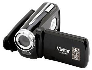 Vivitar Dvr-508 Cámara De Vídeo Digital De Alta