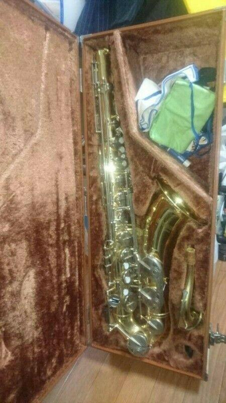 Yamaha YTS-23 Saxofón Tenor Saxofón con Estuche
