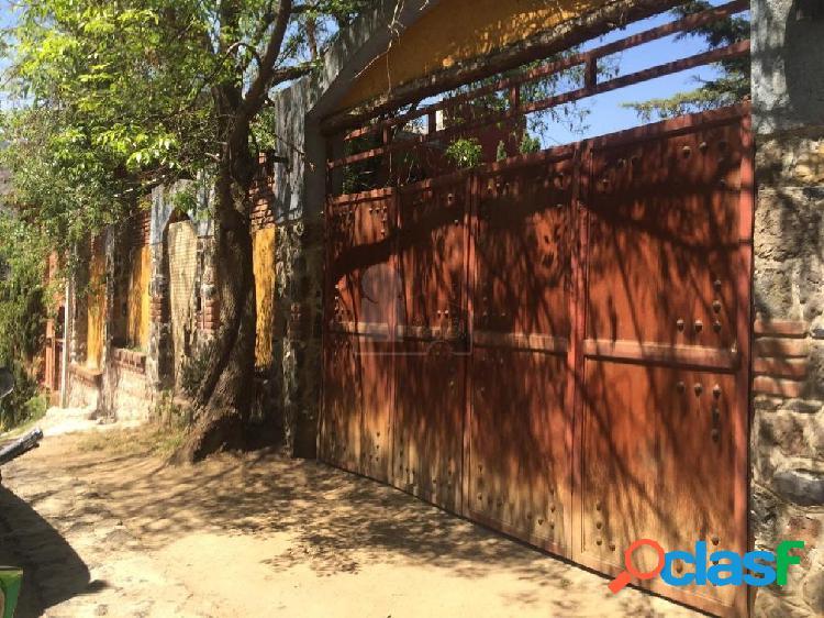 terreno en venta en xochimilco con superficie de 480m2 y