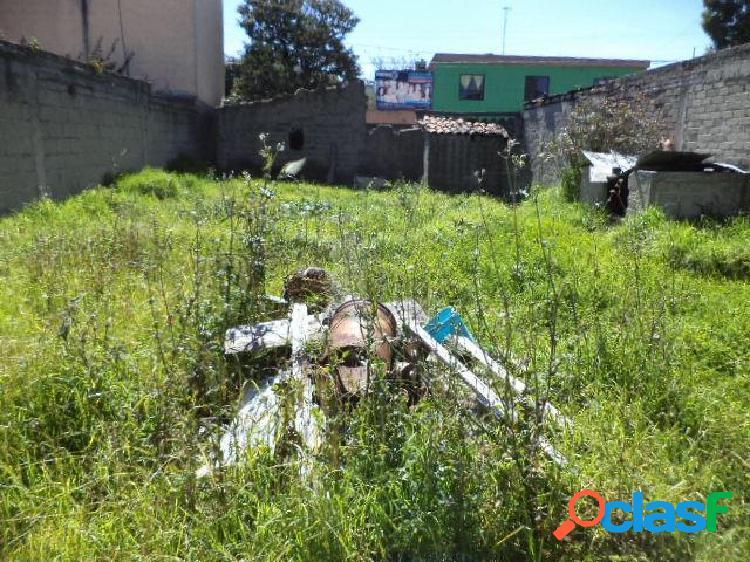 venta de terreno en el centro de Toluca