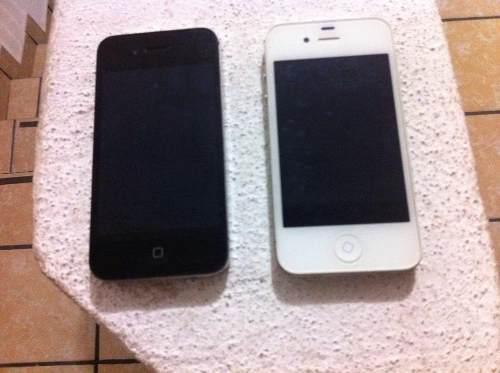 2 iPhone 4s 16 Gb Con Pequeños Detalles