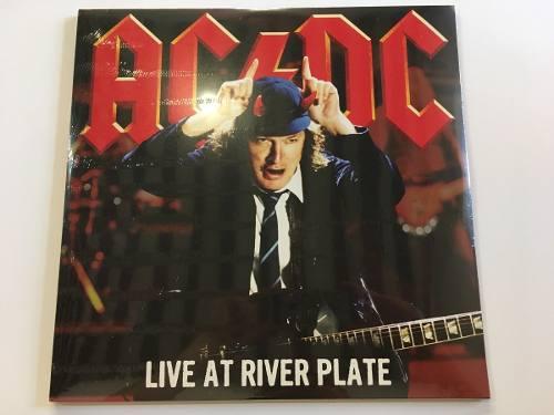 Ac/dc Live At River Plate Lp Vinil Triple (discos Rojos)