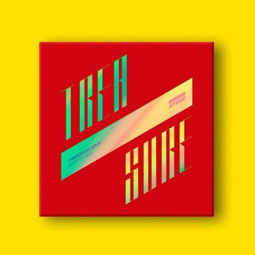 Ateez Ep.3 Treasure: One To All Album Kpop Envio Gratis