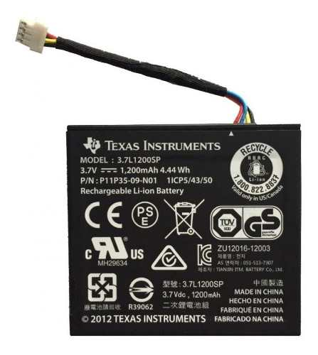 Batería Pila Recargable Para Calculadora Texas Ti Nspire Cx