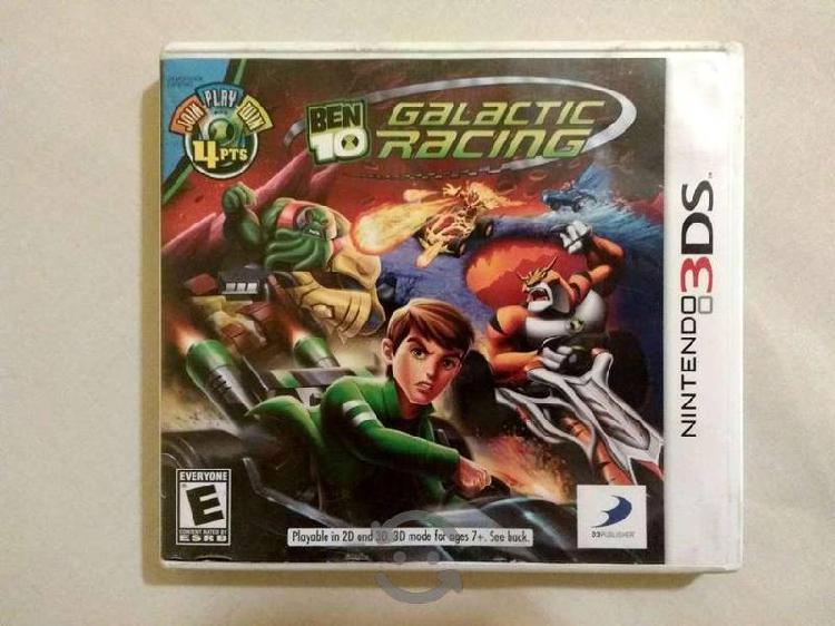 Ben 10 Galactic Racing Videojuego N 3DS
