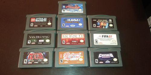 Cassetes De Game Boy Advance, Star Wars, Harry Potter