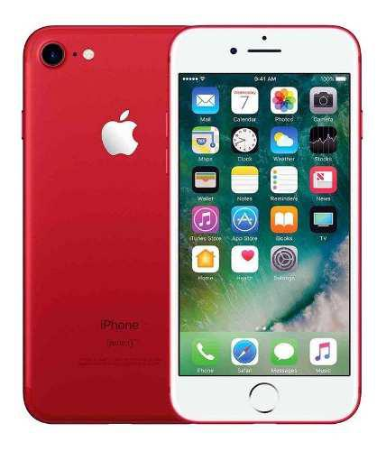 Celulares Apple iPhone 7 128gb. Rojo Original Envío
