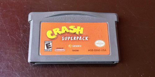 Crash Superpack Para Game Boy Advance, Sp, Nintendo Ds
