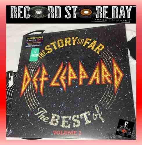 Def Leppard- The Story So Far- The Best Of Vol. Vinyl Rsd 19