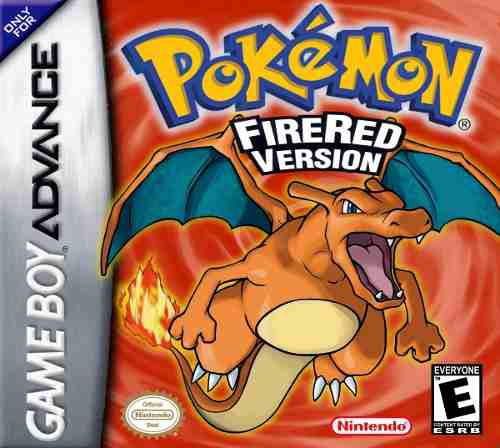 Gba - Pokemon Firered Version Original (acepto Mercado Pago)