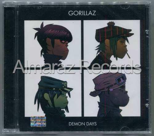 Gorillaz Demon Days Cd