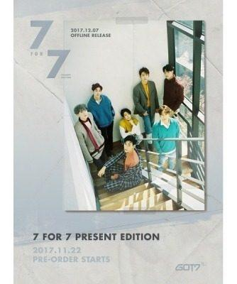 Got7 7x7 Present Edition Album Kpop (2 Versiones Aleatorias)