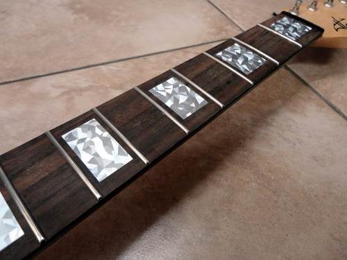 Inlay Stickers Diapason Guitarra Eléctrica Bloques Rs