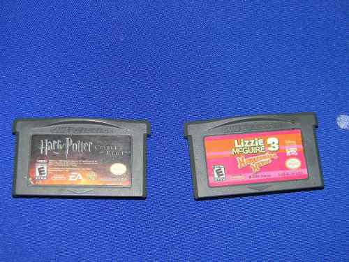 Juegos Gameboy Advance (harry Potter, Lizzie Mcguire 3)