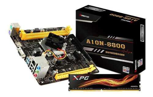 Kit Actualizacion Gamer Amd Fx Quad Core 4gb Ddr4 Radeon R7