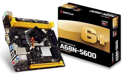 Kit Biostar A68n-5600 A10 4655 Quad Core Ddr3 Hdmi Radeon Hd