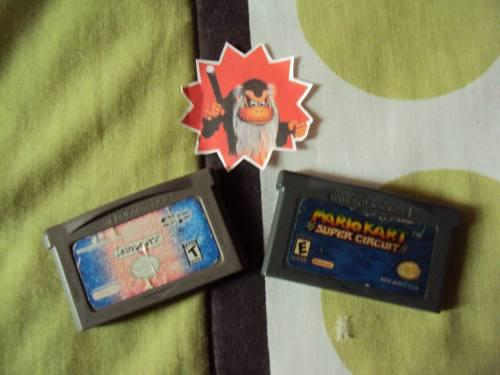 Mario Kart Y Lord Of The Rings Nintendo Game Boy Advance Sp