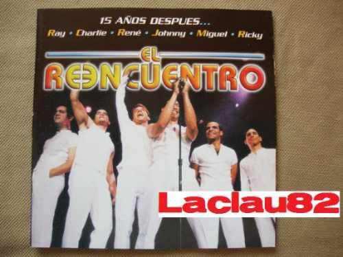Menudo El Reencuentro 15 Años Despues 2 Discos 1998 Cd