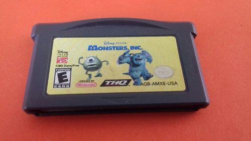 Monster Inc,buen Juego Y Funcionando.