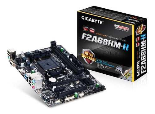 Motherboard Ga-f2a68hm-h Amd Fm2+/fm2 Apus Serie A
