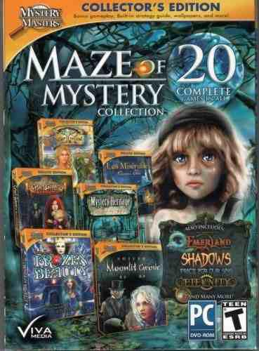 Mystery Masters Maze Of Mystery Collection 20 Juegos De Obje