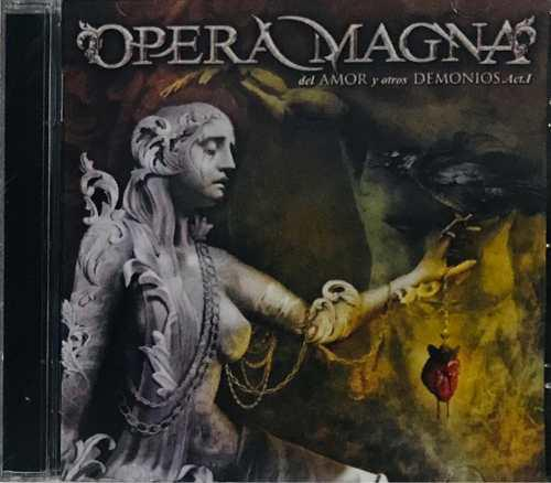 Opera Magna, Del Amor Y Otros Demonios Act. 1 Cd, Nuevo