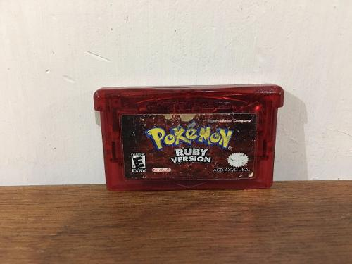 Pokemon Ruby Version Para Game Boy Advance / Gba Buen Estado