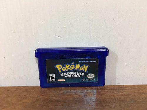 Pokemon Sapphire Version Para Game Boy Advance / Gba