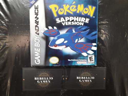 Pokémon Sapphire - Game Boy Advance (con Caja)