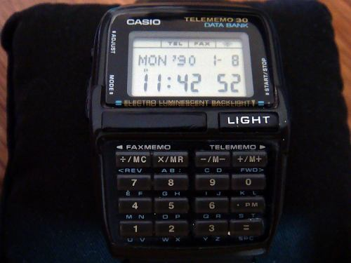 Reloj Vintage Casio Dbc-30 Calculadora De Colección Ii.