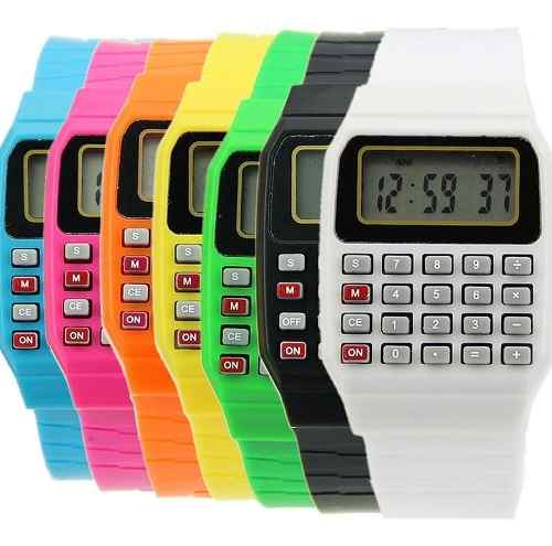 Relojes Calculadora Nerd Regreso A Clases