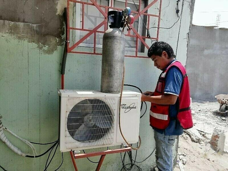 Reparación y Instalación de Minisplit y Climas. Carga de