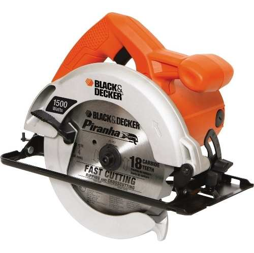 Sierra Circular w Cs Black Decker